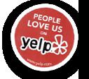 People love us on yelp*!
